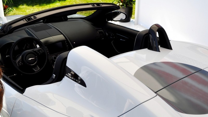 USA Debut - 2014 JAGUAR F-TYPE Project 7 Speedster! 3.8s to 60MPH, 575HP, 250 Copies Max 35