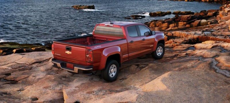 Updated With Pricing and Colors - 2015 Chevrolet Colorado Z71 Brings Cool Style, Big Power 16