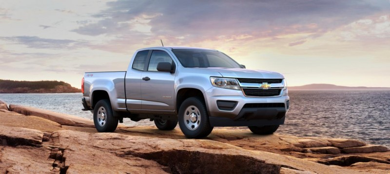 Updated With Pricing and Colors - 2015 Chevrolet Colorado Z71 Brings Cool Style, Big Power 25
