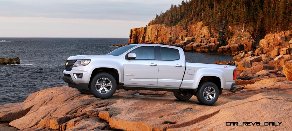 Updated With Pricing and Colors - 2015 Chevrolet Colorado Z71 Brings Cool Style, Big Power 34