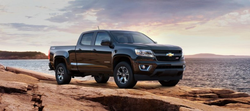 Updated With Pricing and Colors - 2015 Chevrolet Colorado Z71 Brings Cool Style, Big Power 37