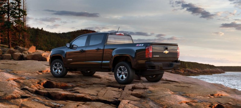 Updated With Pricing and Colors - 2015 Chevrolet Colorado Z71 Brings Cool Style, Big Power 39
