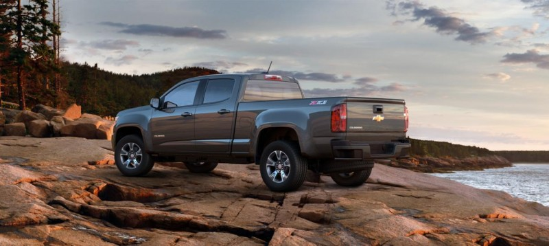 Updated With Pricing and Colors - 2015 Chevrolet Colorado Z71 Brings Cool Style, Big Power 43