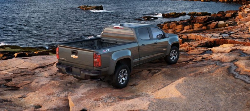Updated With Pricing and Colors - 2015 Chevrolet Colorado Z71 Brings Cool Style, Big Power 44