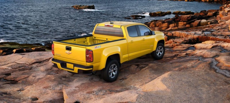 Updated With Pricing and Colors - 2015 Chevrolet Colorado Z71 Brings Cool Style, Big Power 48