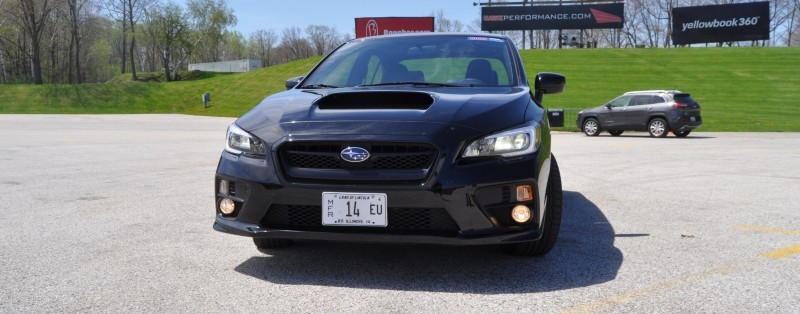 Updated with 37 High-Res Photos - Track Review - 2015 Subaru WRX Automatic 2