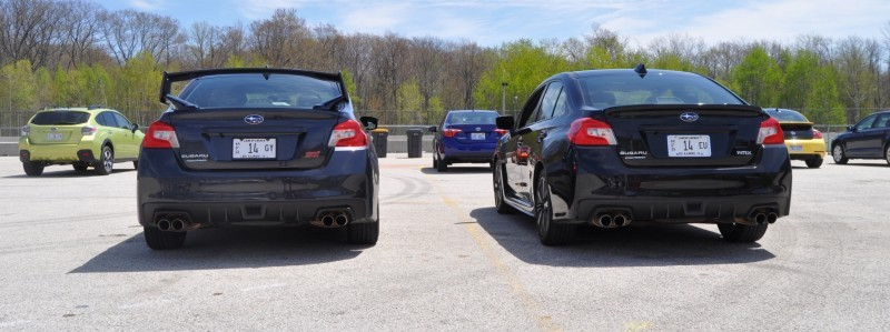 Updated with 37 High-Res Photos - Track Review - 2015 Subaru WRX Automatic 22