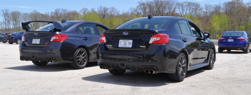 Updated with 37 High-Res Photos - Track Review - 2015 Subaru WRX Automatic 25