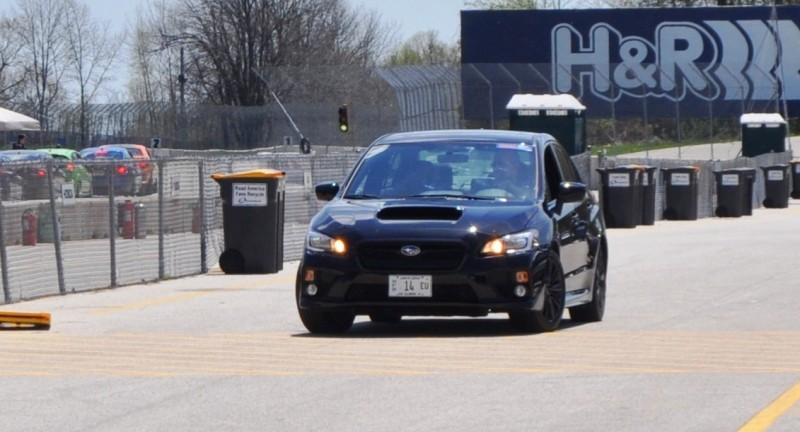 Updated with 37 High-Res Photos - Track Review - 2015 Subaru WRX Automatic 27