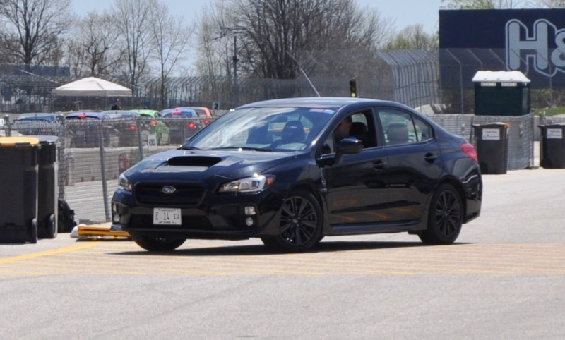 Updated with 37 High-Res Photos - Track Review - 2015 Subaru WRX Automatic 31