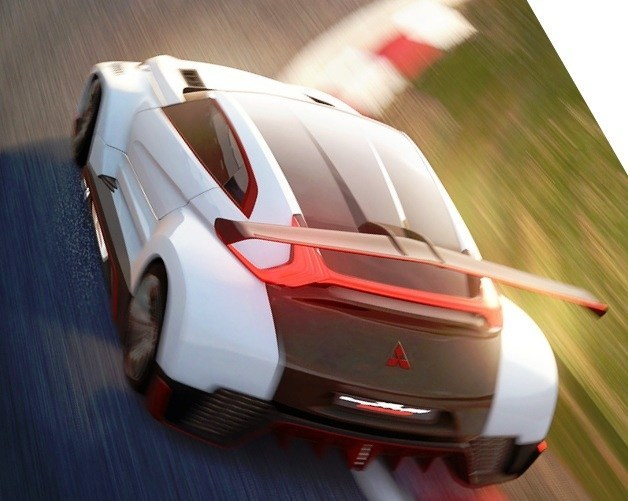 Vision GranTurismo Scores a Super Evo! Mitsubishi Concept XR-PHEV is Super Widetrack Racer 64