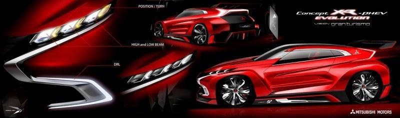 Vision GranTurismo Scores a Super Evo! Mitsubishi Concept XR-PHEV is Super Widetrack Racer 67