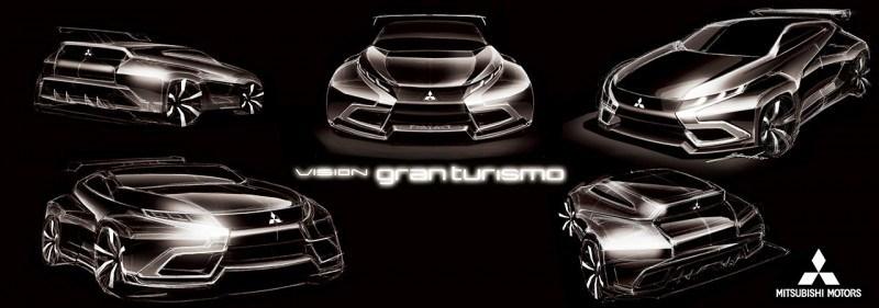 Vision GranTurismo Scores a Super Evo! Mitsubishi Concept XR-PHEV is Super Widetrack Racer 86