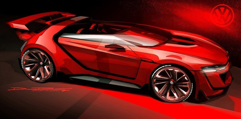 Volkswagen GTI Roadster Vision Gran Turismo Scores 4Motion and 500HP Twin-Turbo VR6 35