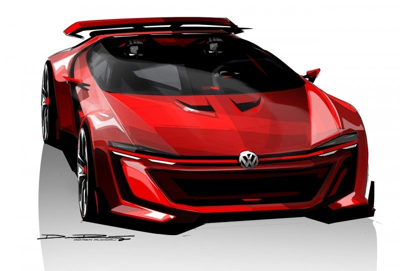 Volkswagen GTI Roadster Vision Gran Turismo Scores 4Motion and 500HP Twin-Turbo VR6 38