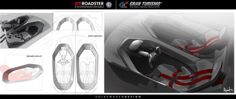 Volkswagen GTI Roadster Vision Gran Turismo Scores 4Motion and 500HP Twin-Turbo VR6 43