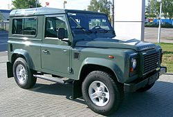 land rover defender prix