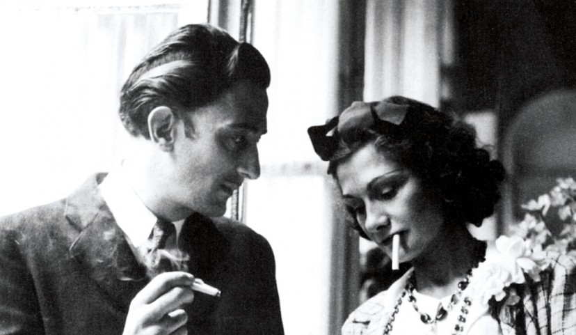 Coco Chanel With Etienne Balsan