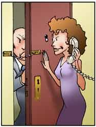 Un uomo tenta di entrare nella casa di una donna fingendosi un controllore del gas.