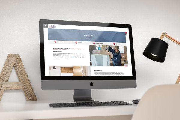 Bonten - Nouveau site web - Bonten.com - Entreprise générale de construction - Caractère Advertising & Communication
