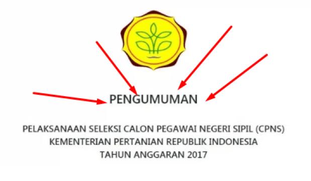 Hasil Seleksi Administrasi CPNS 2017 Periode 2 Semua Instansi Kementerian