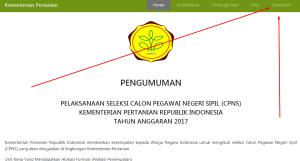 Kementerian Pertanian Kementan Resmi Umumkan Hasil Akhir Seleksi CPNS 2017