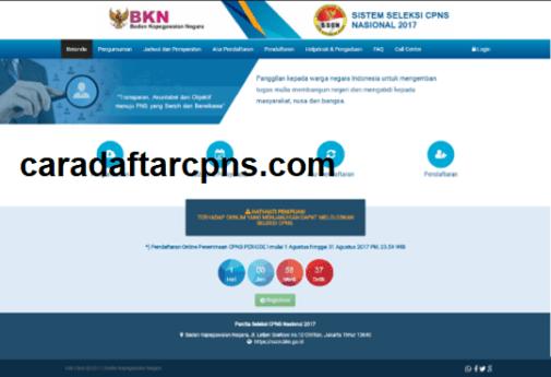 caradaftarcpns.com