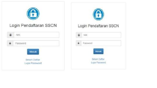 login-pendaftaran-sscn