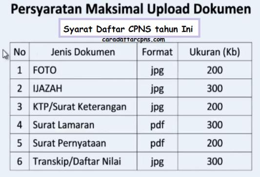 Cara Upload Dokumen Persyaratan CPNS_6