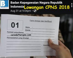 Daftar Nama Lolos Seleksi Administrasi CPNS 2018 Kalimantan Timur