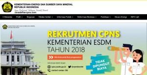 Hasil Akhir Tes SKB CPNS ESDM 2018 Lulus Wawancara Psikotes