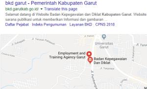 Pengumuman Hasil Tes SKD CPNS Kabupaten Garut 2018