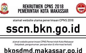 Hasil Akhir Seleksi CPNS Kota Makassar 2018