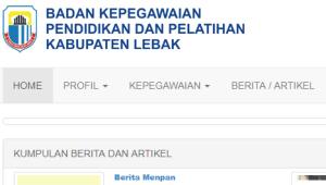 Hasil Seleksi Administrasi CPNS Kabupaten Lebak Rangkasbitung 2018