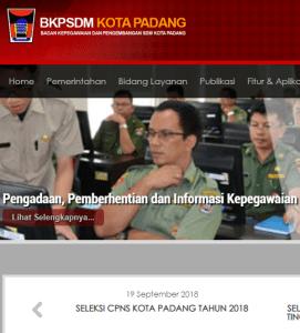 Jadwal dan Lokasi Tes SKD CPNS Kota Padang 2018