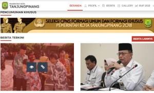 Hasil Akhir Seleksi Administrasi CPNS Kota Tanjungpinang 2018