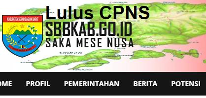 Pengumuman Hasil Tes Skd Cpns 2018 Kabupaten Seram Bagian Barat