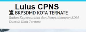 Pengumuman Hasil Tes SKD CPNS 2018 Kota Ternate