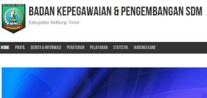 Pengumuman Hasil Tes SKD CPNS Kabupaten Belitung Timur 2018