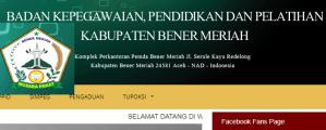 Pengumuman Hasil Tes SKD CPNS Kabupaten Bener Meriah 2018