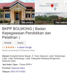 Pengumuman Hasil Tes CAT SKD CPNS Kabupaten Bolaang Mongondow 2018