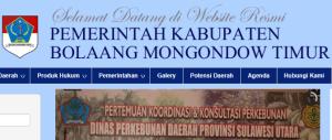 Pengumuman Hasil Tes CAT SKD CPNS Kabupaten Bolaang Mongondow Timur 2018