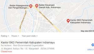 Pengumuman Hasil Tes SKD CPNS Kabupaten Indramayu 2018