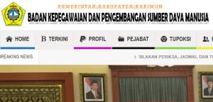 Pengumuman Hasil Tes SKD CPNS Kabupaten Karimun 2018