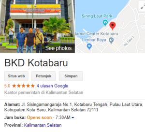 Pengumuman Hasil SKD SKB CPNS Kab Kotabaru 2019 2020
