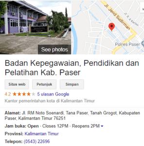Pengumuman Hasil Tes SKD CPNS Kabupaten Paser 2018