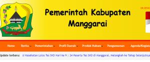 Pengumuman Hasil Tes SKD CPNS Kabupaten Manggarai 2018