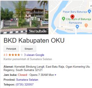 Pengumuman Hasil Tes SKD CPNS Kabupaten Oku 2018