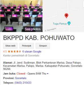 Pengumuman Hasil Tes CAT SKD CPNS Kabupaten Pohuwato 2018