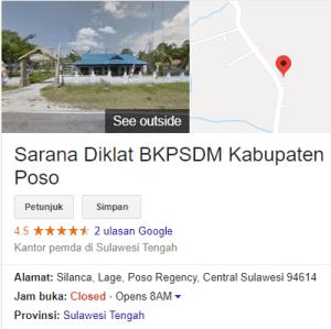 Pengumuman Hasil Tes CAT SKD CPNS Kabupaten Poso 2018